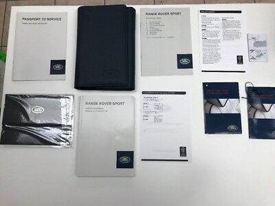 Land Rover , Range Rover Sport 2014 Owners Manual Books OEM / In Case/ Free Ship