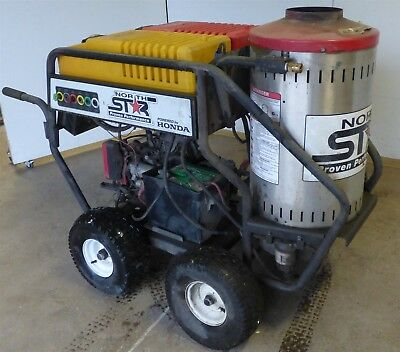 Northstar Pressure Washer Hot Water Steam Honda Gas Engine