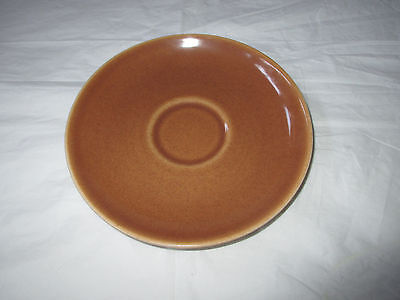 """Russel Wright Iroquois 6"""" Casual China RIPE APRICOT Saucer"""