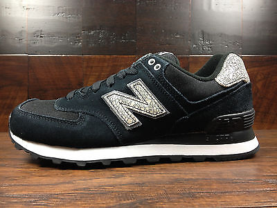 NEW BALANCE WOMENS (WL574CIE) Shattered Pearl (Black Magnet Grey) Wmns 6 10