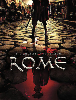 Rome - The Complete First Season (DVD, 2006, 6-Disc Set) Like New