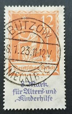 GERMANY Stamp sc#B4 Semi-Postal PLANTING CHARITY. Postally Used (2546)