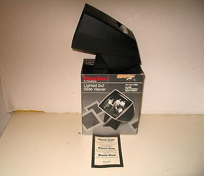 View Master Pana Vue 2 X 2 Lighted Slide Viewer