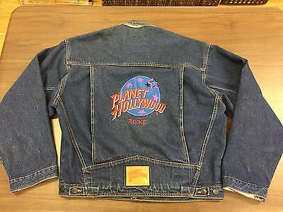 Vintage Planet Hollywood Rome Denim Jacket – XL