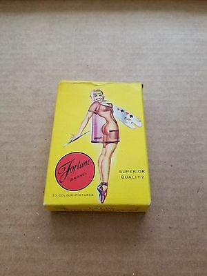 Vintage pinup/ nude playing cards Fortune Brand 52 + 1 joker