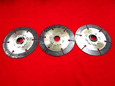 Quartermaster 7.25 Clutch  Disc Set For 3 Disc Clutch With 29 Spline