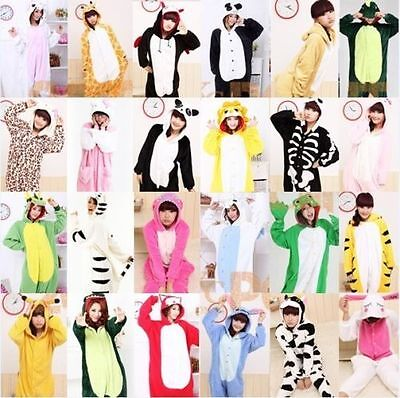 Adult Unisex Fashion Kigurumi Animal Pajamas Cosplay Costume Sleepwear ONESIE2