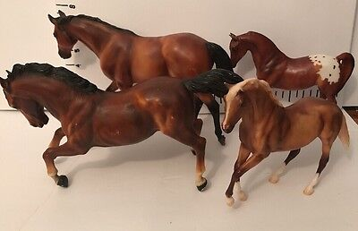 Lot Of 4 Breyer Reeves Horses