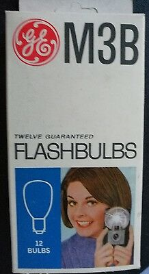 General Electric M3B Flash Bulbs Set Of 12 New Old Stock