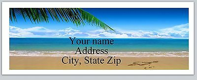 Personalized Address Labels Beach Buy 3 get 1 free (ac 791)
