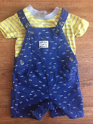 Carter's Two Piece Overall Set - 9 Months