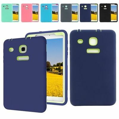 """For Samsung Galaxy Tab E 8"""" T377A Hard Rubber Shockproof Case Cover T377V T377T"""