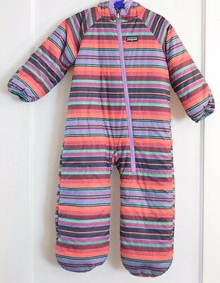 baby Patagonia fleece-lined snowsuit size 12M