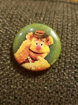 Vintage Jim Henson The Muppets Fozzy Bear Collector Pin