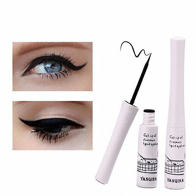 Liner Waterproof Eye Cosmetic Eyeliner Liquid YANQINA Black Makeup Pen