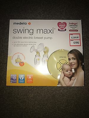 Brand New Sealed Medela Swing Maxi Double Electric Breast Pump