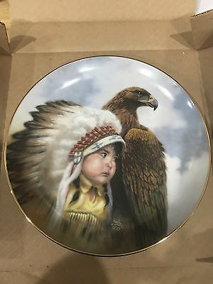 Protector Of The Plains Plate By Gregory Perillo