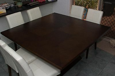 dining table   8 x chairs