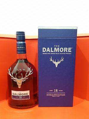 Dalmore 18 Year Old Single Malt Scotch Whisky 700ml @ 43 % abv