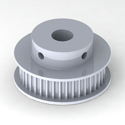 Gt2  Timing Pulley 6Mm Wide 6.35Mm Bore 40 Tooth 2Mm Pitch - Cnc