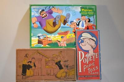 Vintage Hand Painted Popeye Cel Lot 8