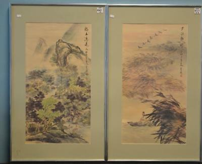 Two Japanese Paintings Lot 264