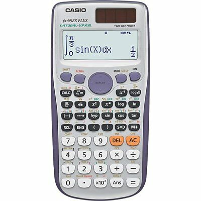 Casio Fx-991Es Plus Calcolatrice Scientifica  417 Funzioni