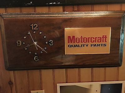 Ford Motorcraft Quality Parts Office Wall Clock