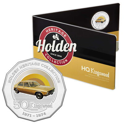 NEW RA Mint Holden Heritage HQ Kingswood 50 Cent Coin Pack