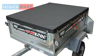 High quality trailer cover for Erde 102 or Daxara 107 also Maypole 711 trailer