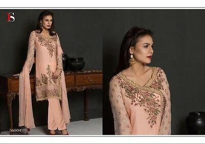 Pakistani Shalwar Kameez Suit For Wedding Party EID Gift Georgette Stitched M-38