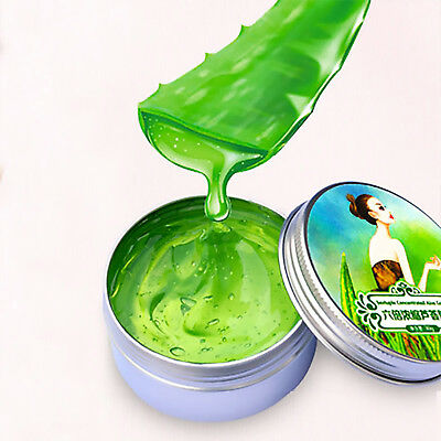 Aloe Vera Gel 100% Pure Natural Organic Skin Care Face Body 6 x Concentrated 30g