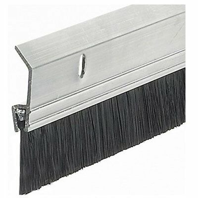 "2x36"" Extra Aluminum Brush Door Sweep Silver Improvement Building Hardware"