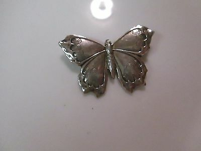 Doskow Sterling Butterfly Pin