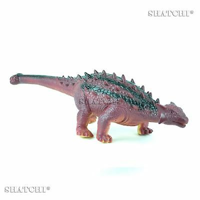 LARGE 50CM Soft Foam Rubber Stuffed ANCHILOSAURO Dinosaur Toy Figure With Sound