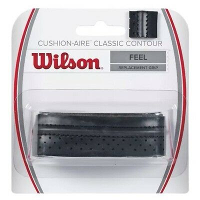 Wilson Cushion-Aire Classic Contour Replacement Grip - Feel - Black - Rrp £10