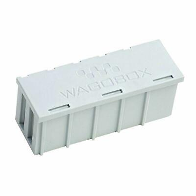 10 x WAGOBOX Multi-Purpose Junction Box Grey 108mm x 39mm x 44mm 51008291