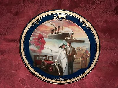 2000 Bradford Exc Titanic Queen of the Ocean Plate 13th Issue Traveling in Style