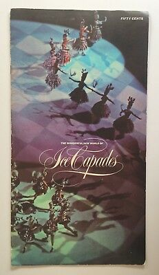The Wonderful New World of Ice Capades 1965 Souvenir Programme Ice Skating