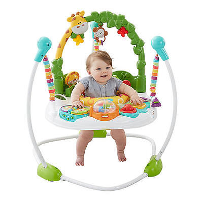 New Fisher-Price Go Wild Jumperoo Activity Center- Free shipping