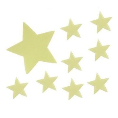 45 Wall Glow In The Dark Stars Stickers Baby Kids Nursery Bed Room Ceiling