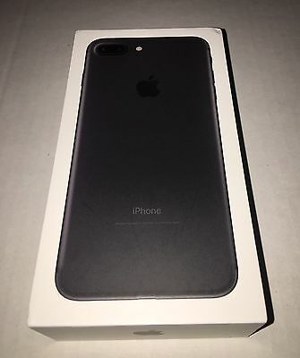 *NEW*Apple iPhone 7 Plus MATTE BLACK. 128GB SPRINT. Clean!!