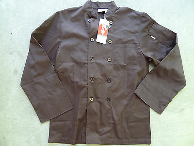 Nwt Chef Works Ccba Chocolate Basic Chef Coat M