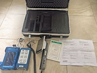 Canberra NRC ADM-300 ADM300A Multi-Functional Survey Instrument Set w/Probe,Case