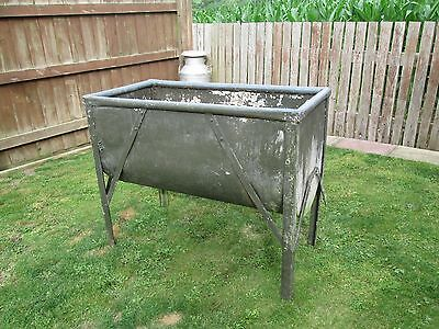 Collectable Old Galvanised Planter/trough !!!!!