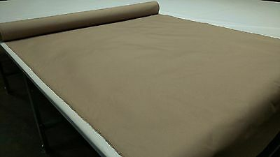 """Sand Outdoor Marine Pro Canvas Duck Awning Boat Fabric Polyester 60""""w Dwr"""