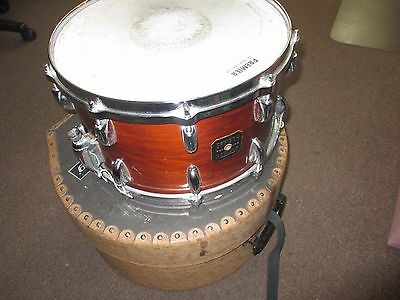 80's Gretsch USA 8x14 Walnut Lacquer Finish Snare Drum FREE SHIPPING