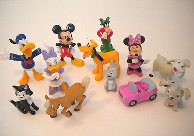 Disney Mickey Mouse Clubhouse Toy BOOK FIGURE PLAYSET Birthday Cake Topper Lot