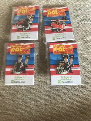 Set Of 4 Postman Pat Badges
