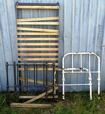 Victorian Design Single Iron bed Frame & Ends